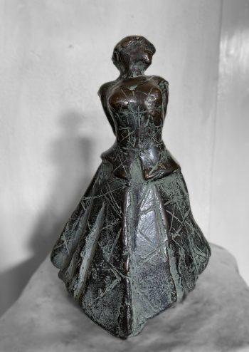 Colombina, brons beeld, Eric Claus