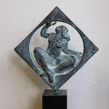Moeder aarde, brons beeld, Eric Claus