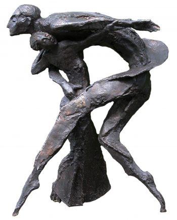 Beeld, brons, Tango, Eric Claus